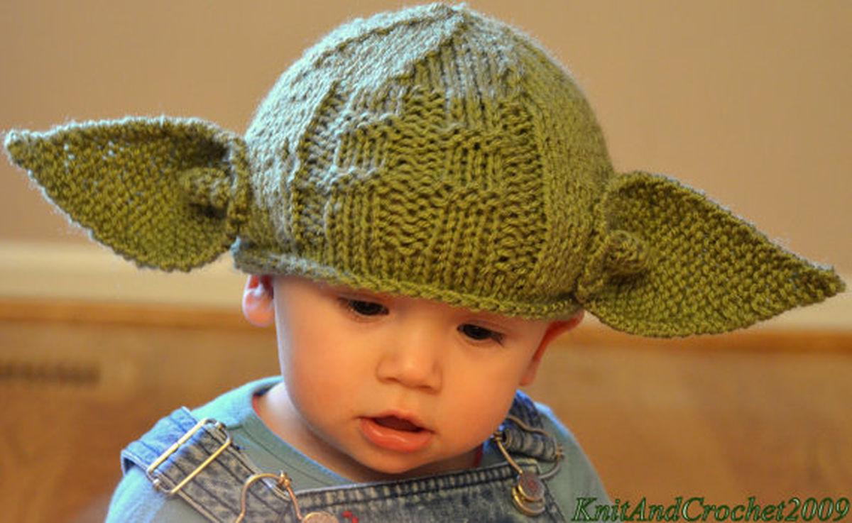 Newborn Baby Star Wars Yoda Hat - Baby Geek fb7a50ab3c4