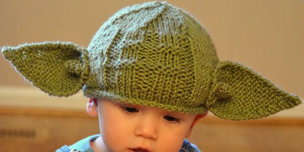 Newborn Star Wars Yoda Hat