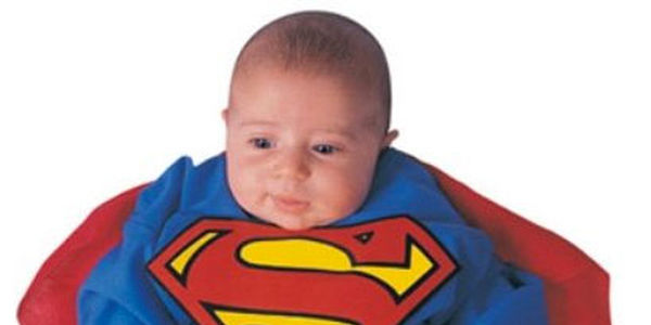 Superman Baby Bunting -Costume