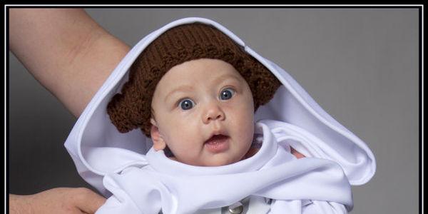 princess leia baby hat