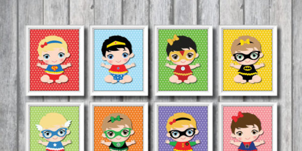 Superbaby Wall Art